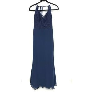 Hayley Paige Occasions Bridesmaid Maxi Dress